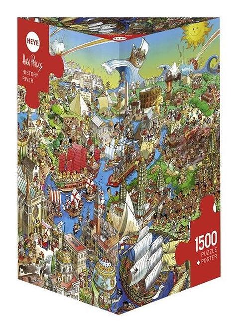 1500PC PUZZLE - HISTORY RIVER - 29890