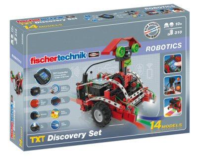 FISCHER TECHNIK - ROBOTICS - TXT DISCOVERY SET