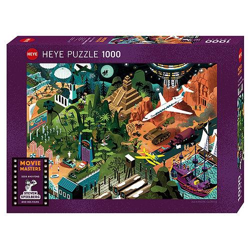 1000PC PUZZLE - STEVEN SPIELBURG FILMS - 29883
