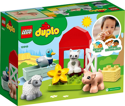 LEGO® DUPLO - BARN, TRACTOR AND FARM ANIMAL CARE - 10952