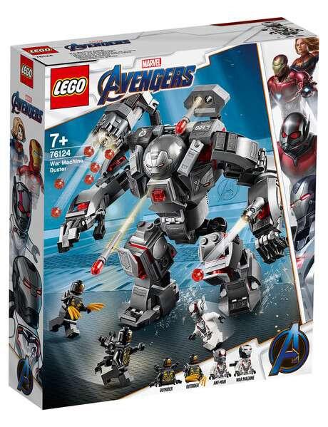 LEGO ® SUPER HEROES - 76124 WAR MACHINE BUSTER
