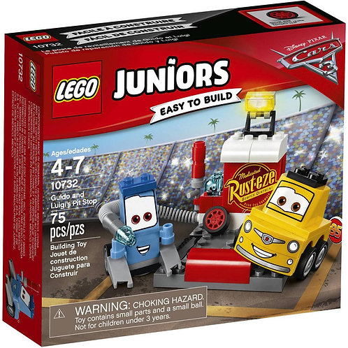 LEGO® JUNIORS GUIDO AND LUIGI'S PIT STOP