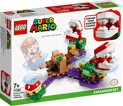 LEGO® SUPER MARIO - PIRANAH PLANT PUZZLING CHALLENGE - 71382