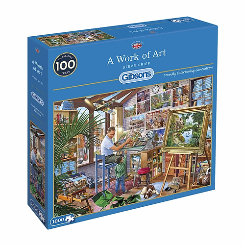 1000PC PUZZLE - A WORK OF ART - 6266