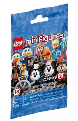 LEGO® MINIFIGURE - DISNEY SERIES 2  (1 LUCKY PACKET)