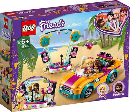 LEGO® FRIENDS - ANDREA'S CAR & STAGE - 41390