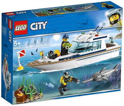 LEGO® CITY - DIVING YACHT