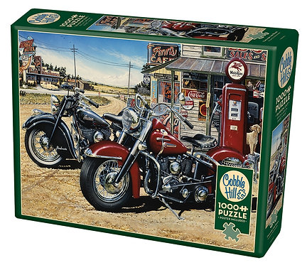 1000PC PUZZLE - TWO FOR THE ROAD - 80062