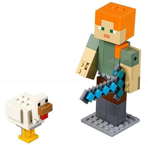 LEGO® MINECRAFT - ALEX BIGFIG WITH CHICKEN