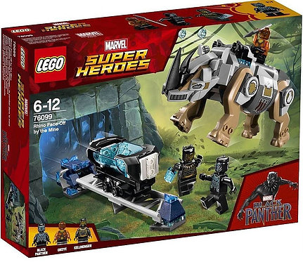 LEGO® SUPER HEROES - RHINO FACE-OFF BY THE MINE
