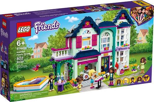 LEGO® FRIENDS - ANDREA'S FAMILY HOUSE - 41449