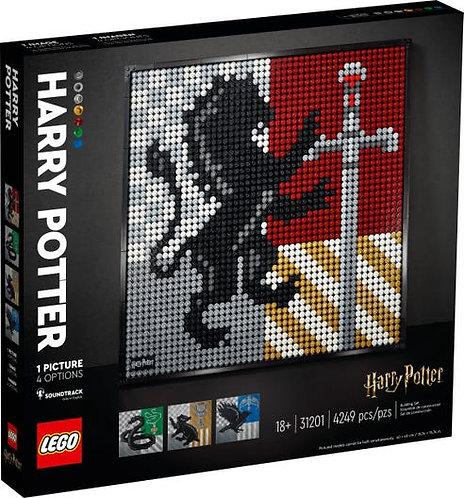 LEGO® ART - HARRY POTTER HOGWARTS CRESTS - 31201