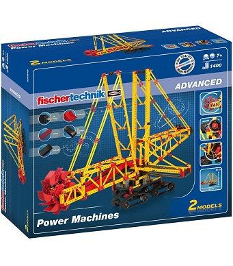 FISCHER TECHNIK - ADVANCED - POWER MACHINES