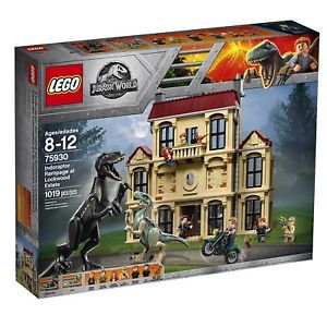 LEGO® JURASSIC WORLD - INDORAPTOR RAMPAGE AT LOCKWOOD ESTATE
