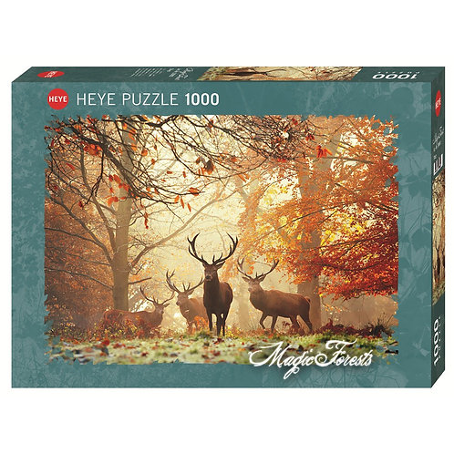 1000PC PUZZLE - STAGS - 29805