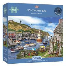 1000PC PUZZLES - LIGHTHOUSE BAY - 6285