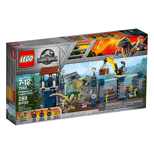 LEGO® JURASSIC WORLD - DILOPHOSAURUS OUTPOST ATTACK - 75931