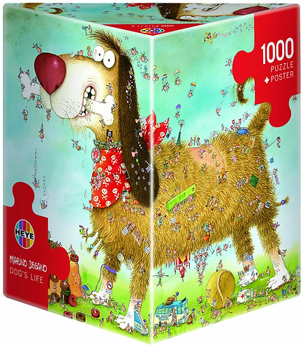 1000PC PUZZLE - DOG'S LIFE - 29491