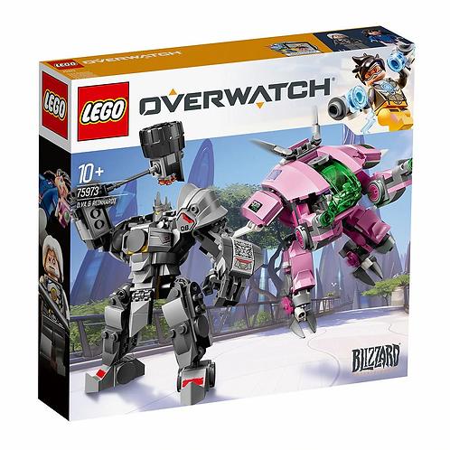 LEGO® OVERWATCH - D.V.A. vs REINHARDT - 75973