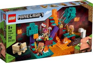 LEGO® MINECRAFT - THE WARPED FOREST - 21168
