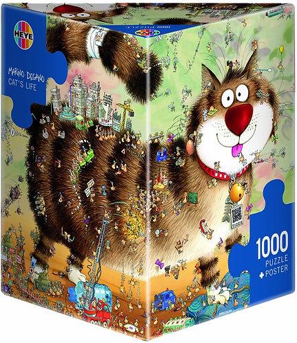 1000PC PUZZLE - CAT'S LIFE - 29569