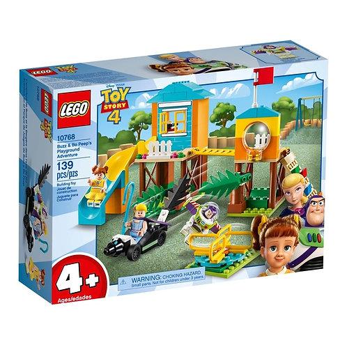 LEGO® JUNIORS - TOY STORY 4 - BUZZ & BO PEEP'S PLAYGROUND ADVENTURE - 10768