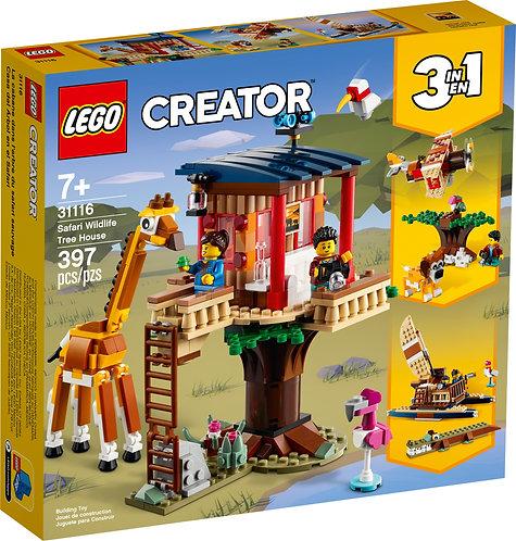 LEGO® CREATOR - SAFARI WILDLIFE TREEHOUSE - 31116