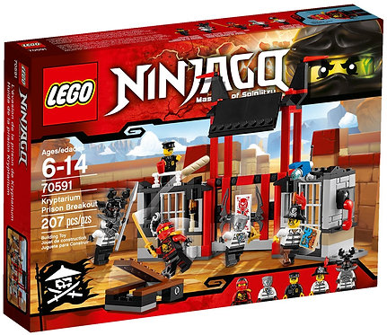 LEGO® NINJAGO - KRYPTARIUM PRISON BREAK