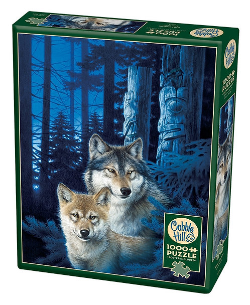 1000PC PUZZLE - WOLF CANYON - 80163