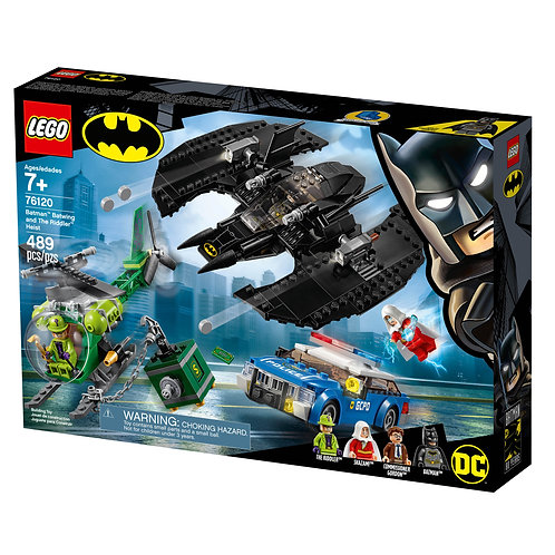 LEGO® SUPER HEROES - BATMAN BATWING AND THE RIDDLER HEIST - 76120