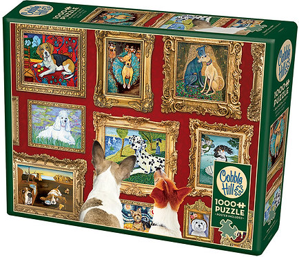 1000PC PUZZLE -DOG GALLERY - 80014