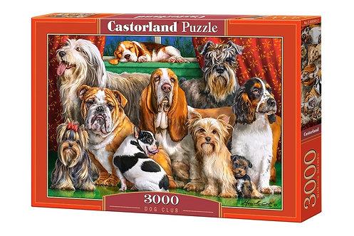 3000PC PUZZLE - DOG CLUB - 300501