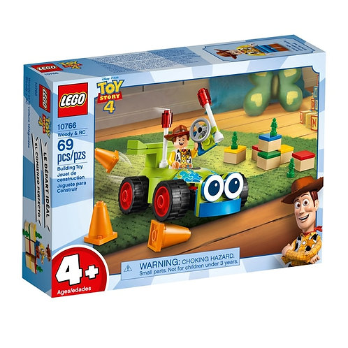 LEGO® JUNIORS - TOY STORY 4 - WOODY & RC