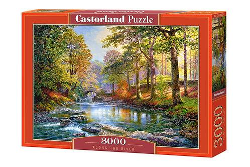 3000PC PUZZLE - ALONG THE RIVER - 300532