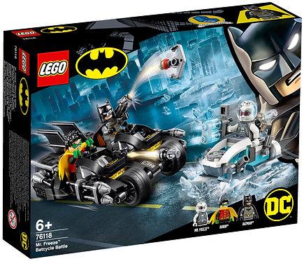 LEGO® SUPER HEROES - MR FREEZE BATCYCLE BATTLE - 76118