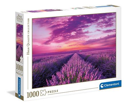 1000PC PUZZLE - LAVENDER FIELD - 396061