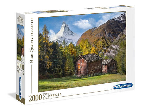 2000PC PUZZLE FASCINATION WITH MATTERHORN - 32561