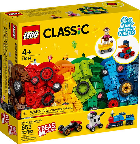 LEGO® CLASSIC - BRICKS AND WHEELS - 11014