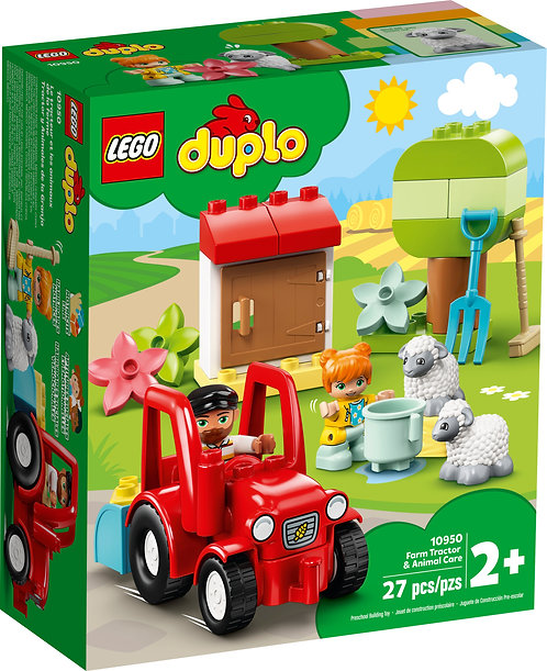 LEGO® DUPLO - FARM TRACTOR & ANIMAL CARE - 10950
