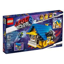 LEGO® LEGO MOVIE - EMMET'S DREAM HOUSE / RESCUE ROCKET !