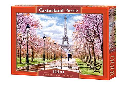 1000PC PUZZLE - ROMANTIC WALK IN PARIS - 104369