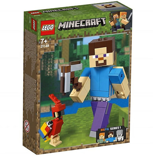 LEGO® MINECRAFT - STEVE BIGFIG WITH PARROT