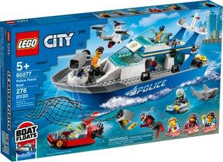 LEGO® CITY - POLICE PATROL BOAT - 60277