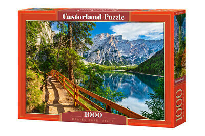 1000PC PUZZLE - BRAIES LAKE ITALY - 104109