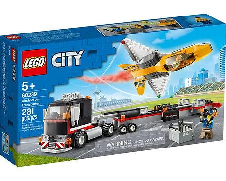 LEGO® CITY - AIRSHOW JET TRANSPORTER - 60289