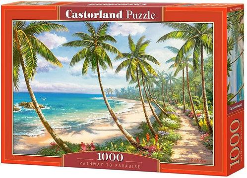 1000PC PUZZLE - PATHWAY PARADISE - 104666