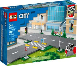 LEGO® CITY - ROAD PLATES - 60304