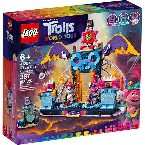 LEGO® TROLLS WORLD TOUR - VOLCANO ROCK CITY CONCERT - 41254