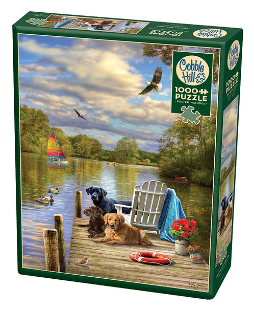 1000PC PUZZLE - DOG DAY AFTERNOON - 80257