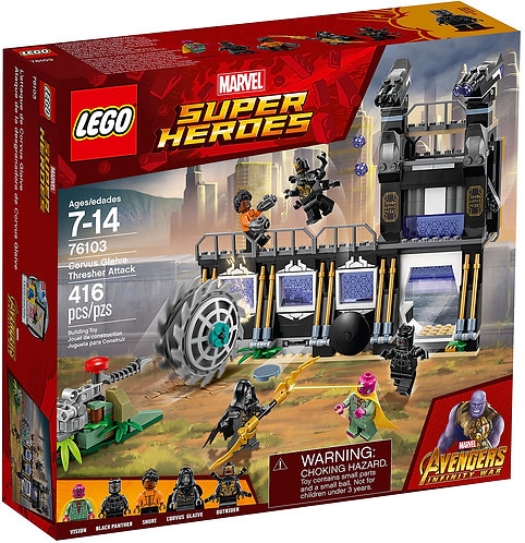 LEGO® SUPER HEROES - CORVUS GLAIVE THRESHER ATTACK